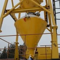 Дозатор минерального порошка для грунтосмесителя