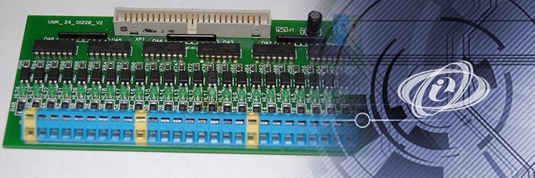 Модуль входов UMK-DI24 для DIN-рейки
